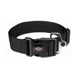 Trixie - Trixie Köpek Premium Boyun Tasması M - L Siyah