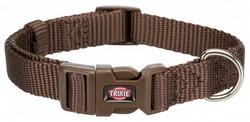 Trixie - Trixie Köpek Premium Boyun Tasması XXS-XS (Koyu Kahve)