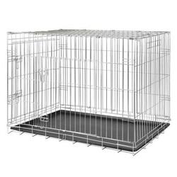 Trixie - Trixie Köpek Taşıma Galvaniz Kafes, 64 x 54 x 48 cm