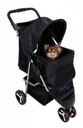 Trixie - Trixie Köpek ve Kedi Arabası 47x100x80 Cm (Siyah)