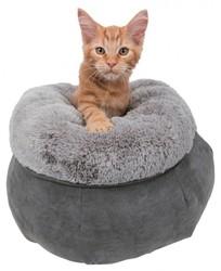 Trixie - Trixie Köpek ve Kedi Yatağı 45 cm Gri/Açık Gri