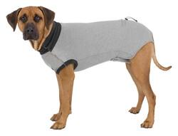 Trixie Köpek Vücut Koruyucu Elbise L - XL, 62 cm Gri - Thumbnail
