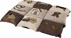 Trixie - Trixie Köpek Yastığı ve Yatağı 55 x 40 Cm Kahve / Bej