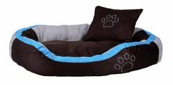 Trixie - Trixie Köpek Yatağı 100×70cm Kahve&Aquamarin