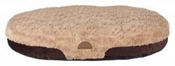 Trixie - Trixie Köpek Yatağı 100X75cm Kahve/Açık Kahve