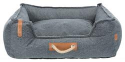 Trixie - Trixie Köpek Yatağı, 100 x 80 cm, Koyu Gri