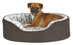 Trixie - Trixie Köpek Yatağı 110x92 cm Siyah/Gri