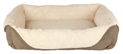 Trixie - Trixie Açık Kahve/Bej Köpek Yatağı 60x50 Cm