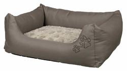 Trixie - Trixie Köpek Yatağı 75X65 Cm Boz Kahve/Bej