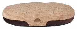 Trixie - Trixie Köpek Yatağı 80X55cm Kahve/Açık Kahve