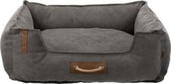 Trixie - Trixie Köpek Yatağı, 80x60cm, Koyu Gri