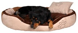Trixie - Trixie Köpek Yatağı 80X65cm Kahverengi&Siyah