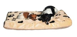 Trixie - Trixie Köpek Yatağı, 90 x 65 cm, Bej / Açık Kahve