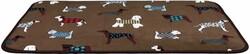 Trixie - Trixie Köpek Yatağı İnce Peluş 90 x 68 cm Kahverengi