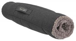 Trixie Köpek Yatağı, Katlanabilir, İnce, 100 x 65 cm, Koyu Gri / Açık Gri - Thumbnail