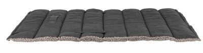 Trixie Köpek Yatağı, Katlanabilir, İnce, 100 x 65 cm, Koyu Gri / Açık Gri