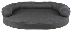 Trixie Köpek Yatağı ve Sofası, Oval, 80 x 60 cm, Gri - Thumbnail