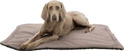 Trixie - Trixie Köpek Yatağı, Yumuşak ve İnce, 100x70cm, Kum Beji