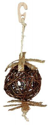 Trixie Kanarya ve Muhabbet Askılı Doğal Kuş Oyuncağı 10 Cm/22 Cm