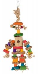 Trixie - Trixie Muhabbet ve Paraket Bambu Adam Kuş Oyuncağı 25 Cm