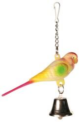 Trixie - Trixie Zilli Muhabbet ve Kanarya Kuşu Oyuncağı 9 Cm