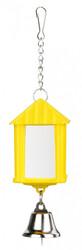 Trixie Muhabbet Kuşu İçin Zilli Ayna 6 Cm - Thumbnail