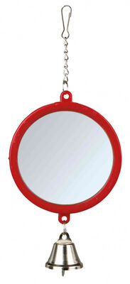Trixie Muhabbet ve Kanarya Kuşu İçin Zilli Ayna 7 Cm