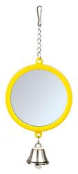 Trixie Muhabbet ve Kanarya Kuşu İçin Zilli Ayna 7 Cm - Thumbnail