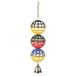 Trixie - Trixie Muhabbet Kuşu Oyuncağı Zilli Toplar 4, 5cm