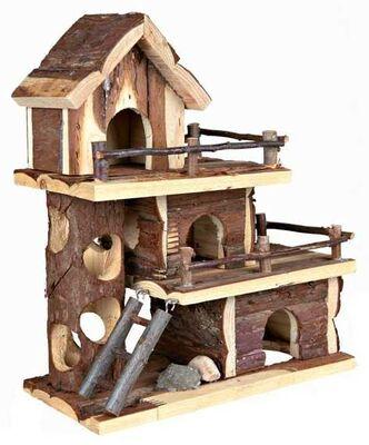 Trixie Naturel Hamster Oyun Evi Tammo