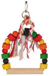 Trixie - Trixie Papağan Oyuncaklı Tünek 20x29 Cm