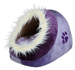 Trixie - Trixie Peluş Kedi ve Küçük ırk Köpek Yatak 35x26x41 Cm Lila/Mor