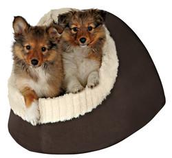 Trixie Pet Yatağı 35 x 26 x 41 cm Kahverengi - Bej - Thumbnail