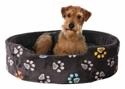 Trixie - Trixie Pet Yatağı 45x35 Cm Gri