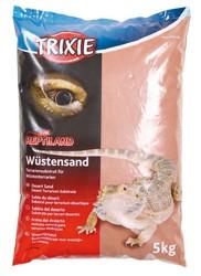 Trixie - Trixie Sürüngen Teraryum İçin Çöl Kumu,5 Kg Kırmızı