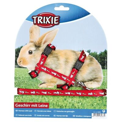 Trixie Tavşan Göğüs Tasma Seti 25 - 44 cm / 10 mm