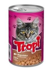 Tropi - Tropi Dana Ciğerli Yetişkin Kedi Konservesi 415 Gr