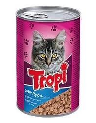 Tropi - Tropi Balıklı Yetişkin Kedi Konservesi 415 Gr