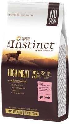 True Instinct High Meat Adult Medium / Maxi Somonlu Tahılsız Yetişkin Köpek Maması 12 Kg