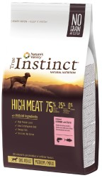True Instinct - True Instinct High Meat Adult Medium/Maxi Somonlu Tahılsız Yetişkin Köpek Maması 12 Kg