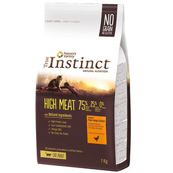 True Instinct - True Instinct High Meat Adult Tavuklu Tahılsız Yetişkin Kedi Maması 1 Kg