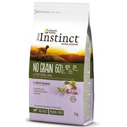 True Instinct - True Instinct No Grain Adult Medium/Maxi Hindili Tahılsız Yetişkin Köpek Maması 2 Kg