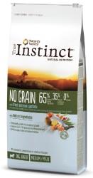 True Instinct - True Instinct No Grain Puppy Medium / Maxi Somonlu Tahılsız Yavru Köpek Maması 12 Kg