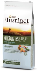 True Instinct - True Instinct No Grain Puppy Medium/Maxi Somonlu Tahılsız Yavru Köpek Maması 2 Kg