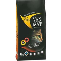 VanCat - Vancat Adult Kuzu Etli ve Pirinçli Yetişkin Kedi Maması 15 Kg + 10 Adet Temizlik Mendili