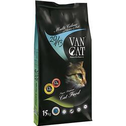 VanCat - Vancat Adult Multi Color Renkli Taneli Yetişkin Kedi Maması 15 Kg + 10 Adet Temizlik Mendili