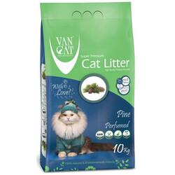 VanCat - VanCat Çam Kokulu İnce Taneli Kedi Kumu 10 Kg