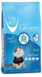 VanCat - VanCat Fresh Parfümlü İnce Taneli Kedi Kumu 5 Kg