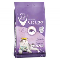 VanCat - VanCat Lavanta Kokulu İnce Taneli Kedi Kumu 10 Kg