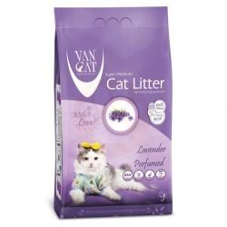 VanCat - VanCat Lavanta Kokulu İnce Taneli Kedi Kumu 5 Kg